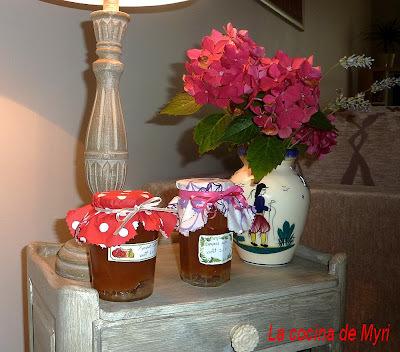 Mermelada de manzanas Tatin