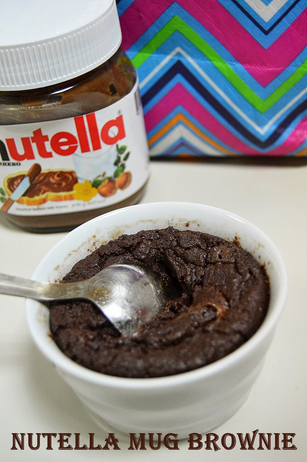 Nutella Mug Brownie