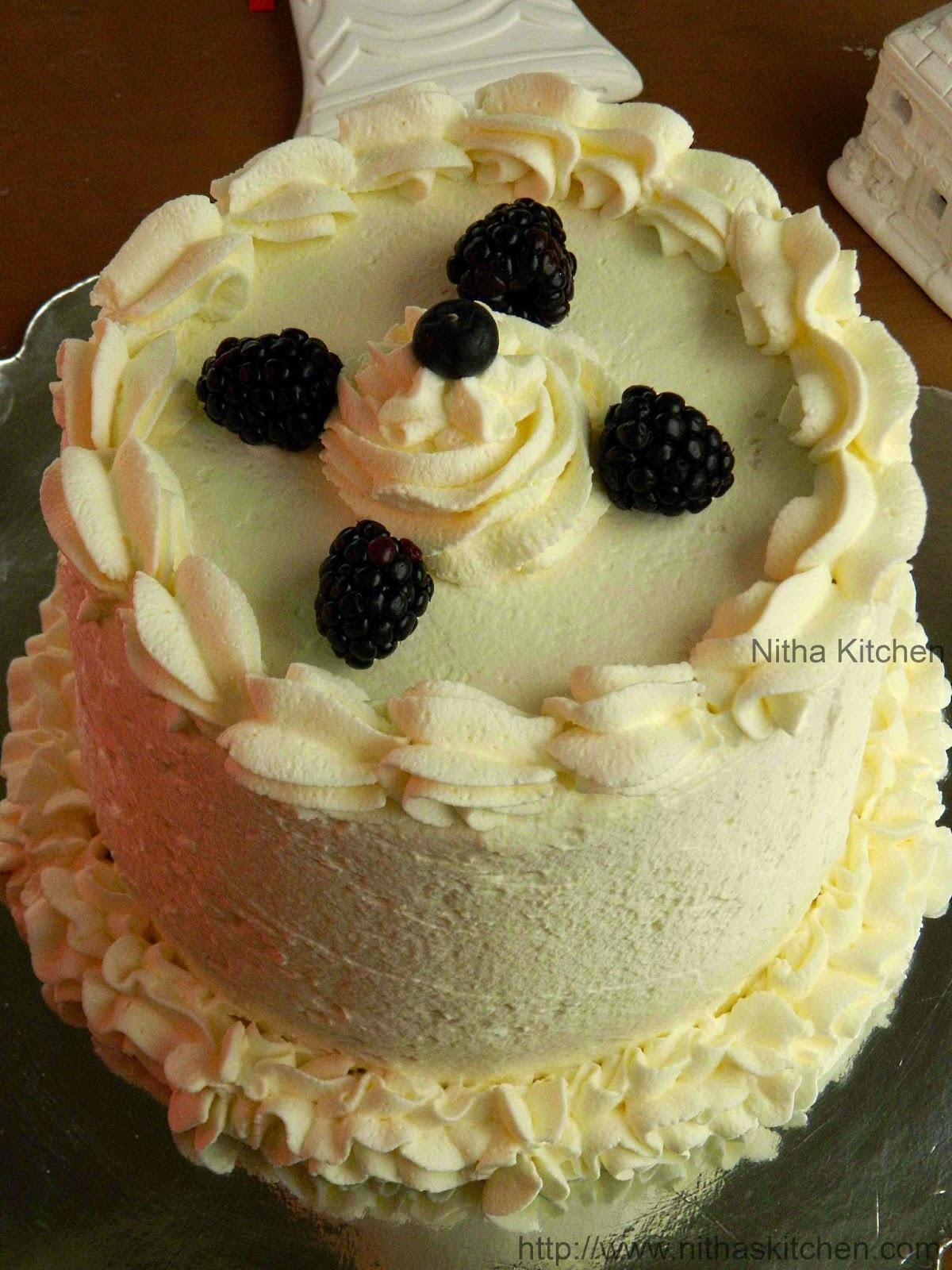Joan's Cake | Rainbow Cake Recipe using Whipped Cream Frosting