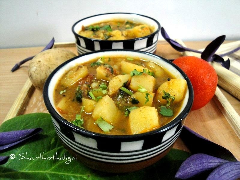 gujarati batata nu shaak