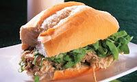 Sanduíche Indiano de Frango