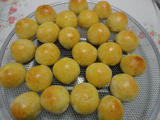 Pão de Batata com recheio de catupiry da Miriam Nunes Vieira Pereira