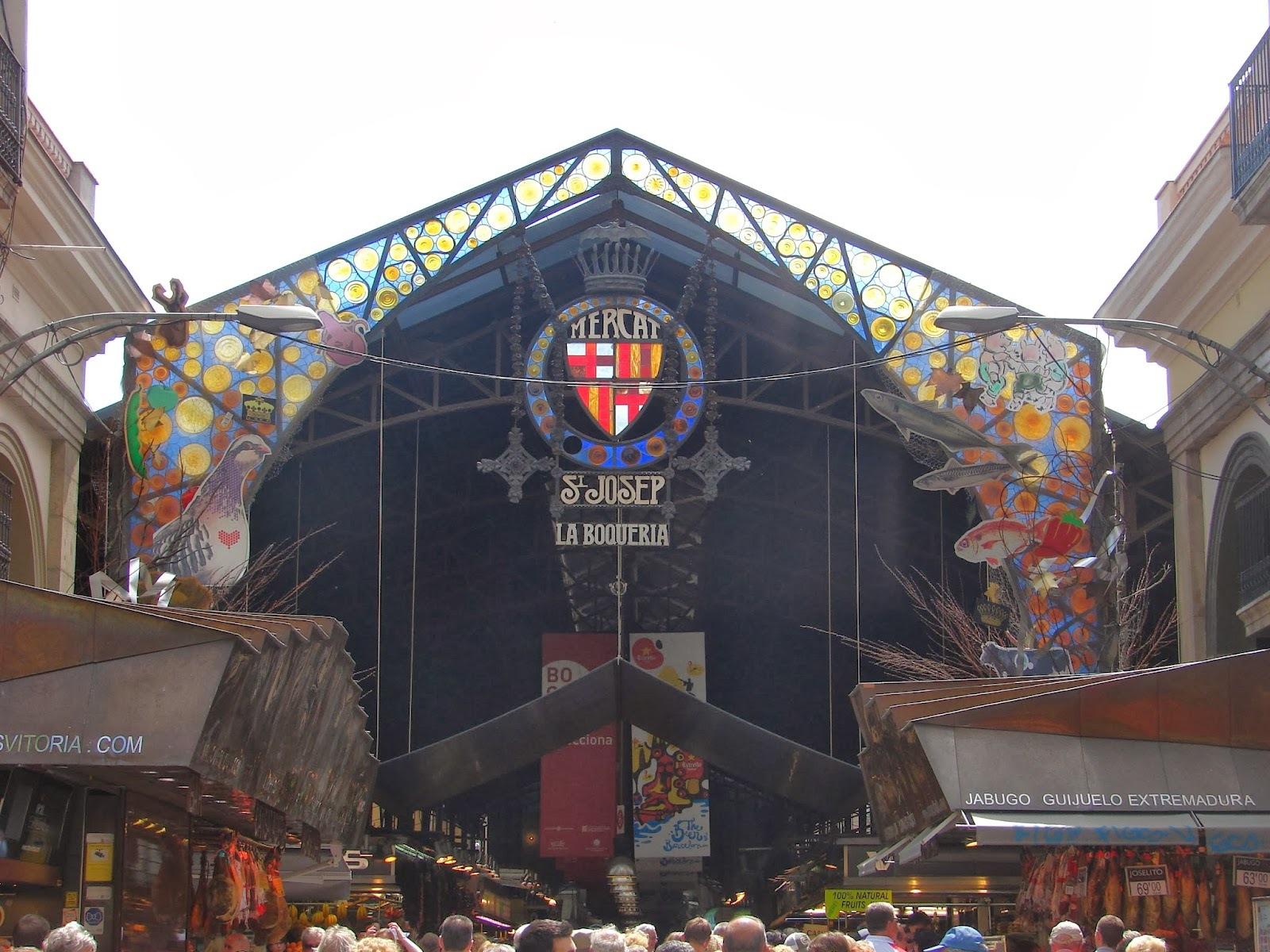 Sabores do Mundo: Mercat La Boqueria - Barcelona
