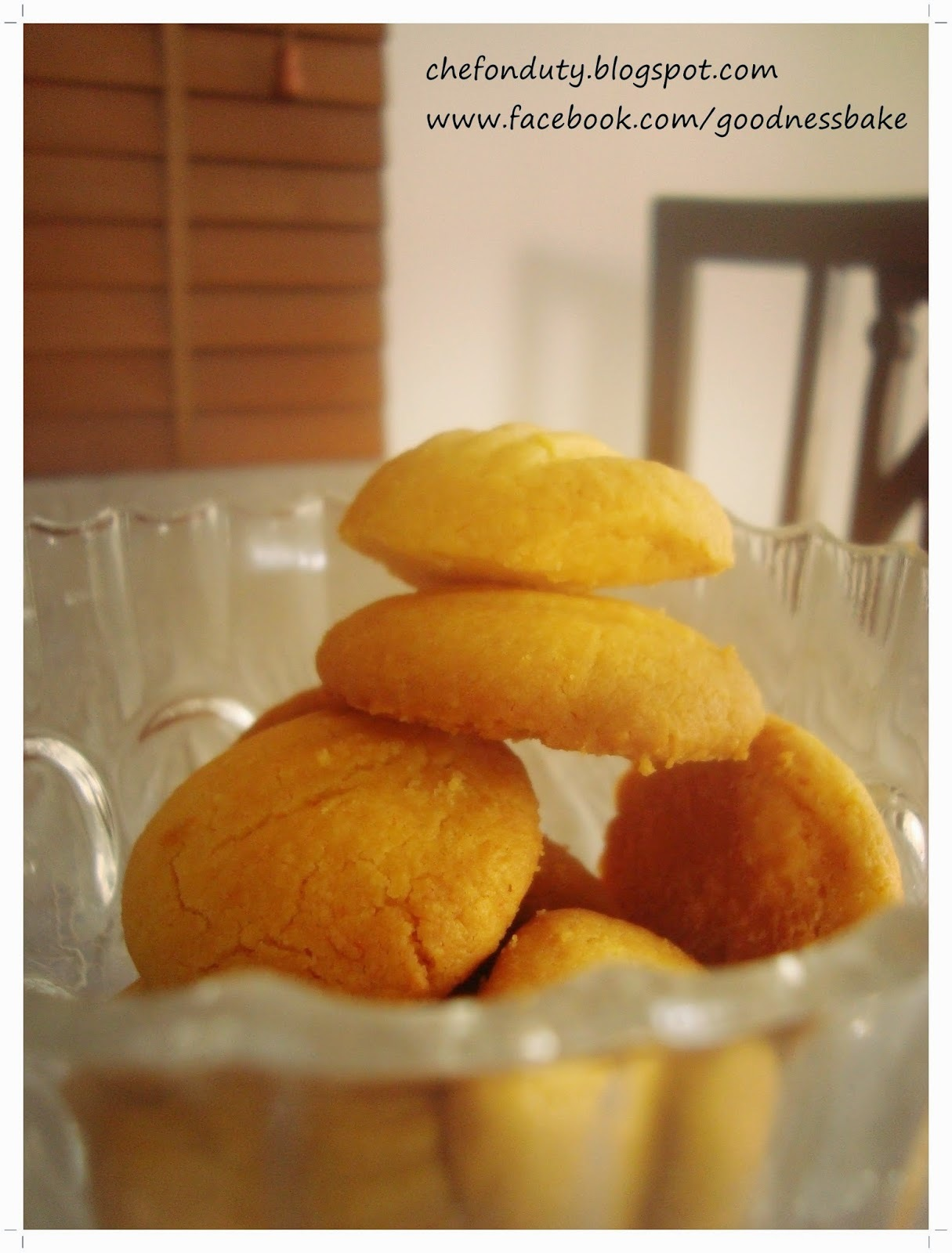 Melting Moments: Butter Biscuits