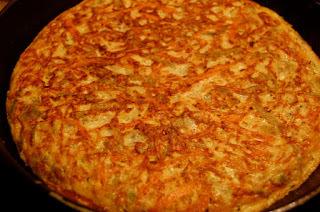 Tortilla de zanahoria