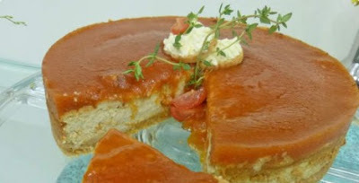 Cheesecake salgado - Ana Maria Braga