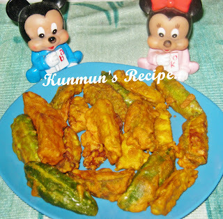 VEGETABLE FINGER FRIES RECIPE