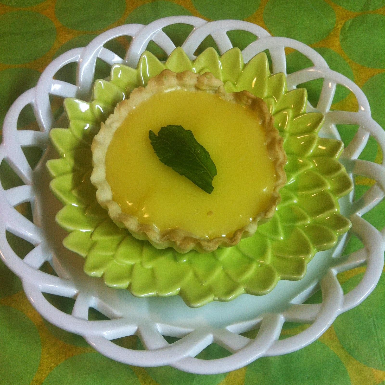 Tartaletas De Lemon Curd