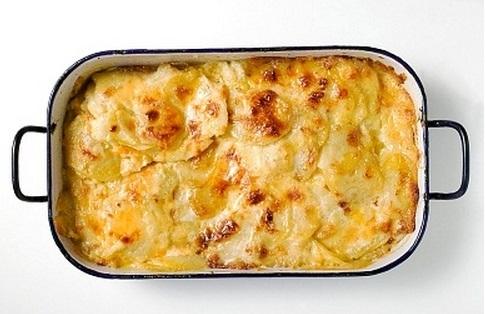 Receta de patatas gratinadas super facil