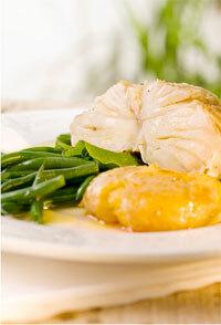 Bacalhau Simples Cozido com Legumes