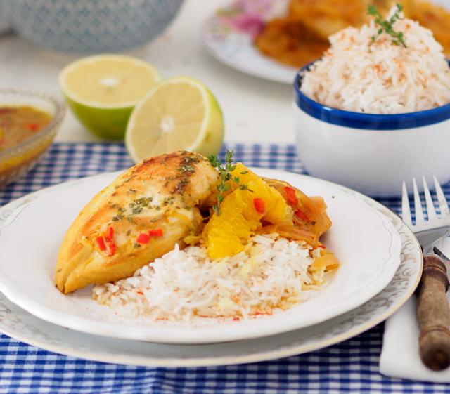 Κοτόπουλο με Σάλτσα Εσπεριδοειδών #vimagourmetfoodblogawards #madewithAB