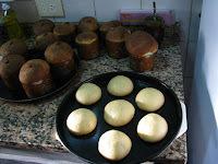 Receta de pan dulce con frutas