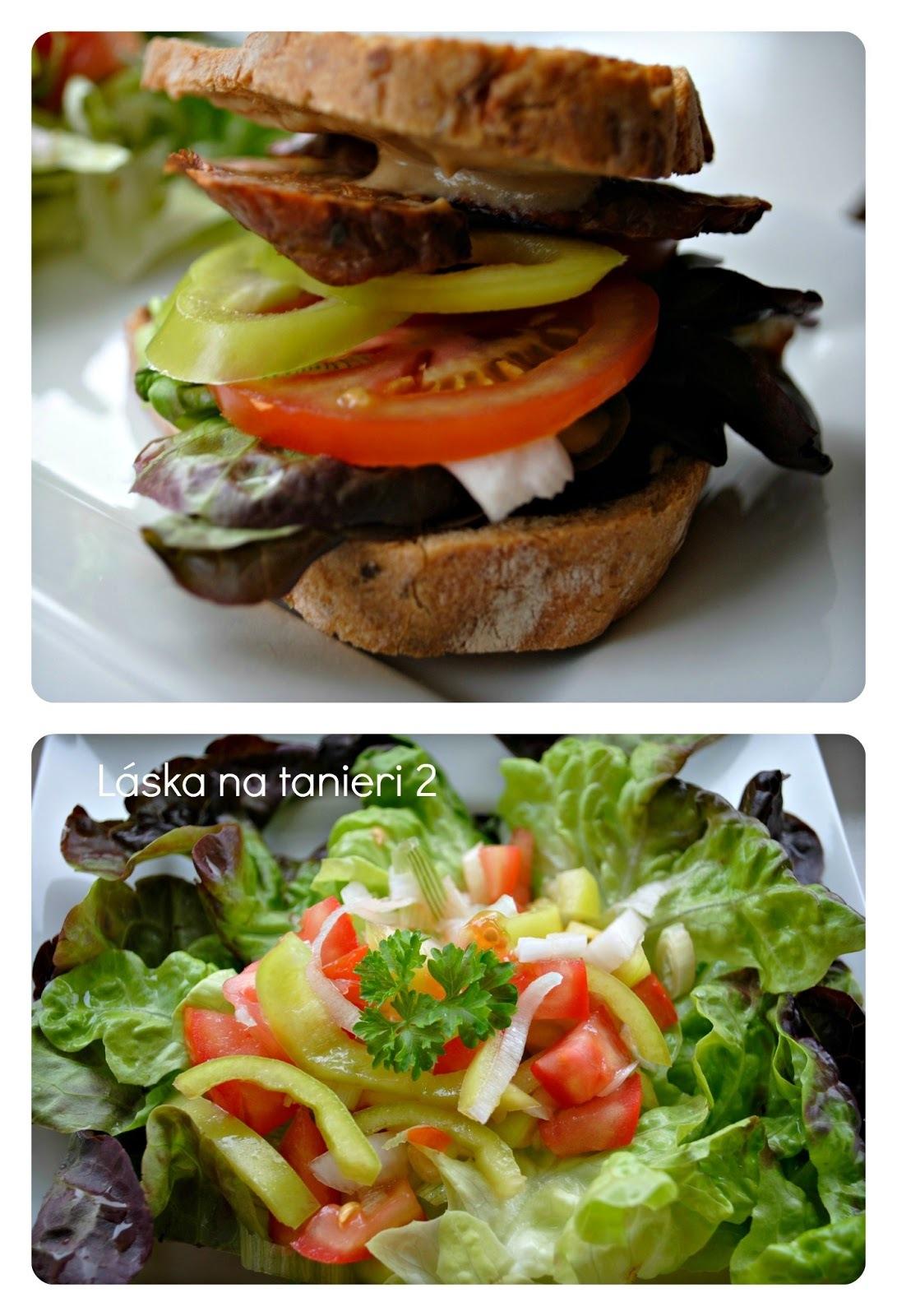 Tempeh-burger :-)