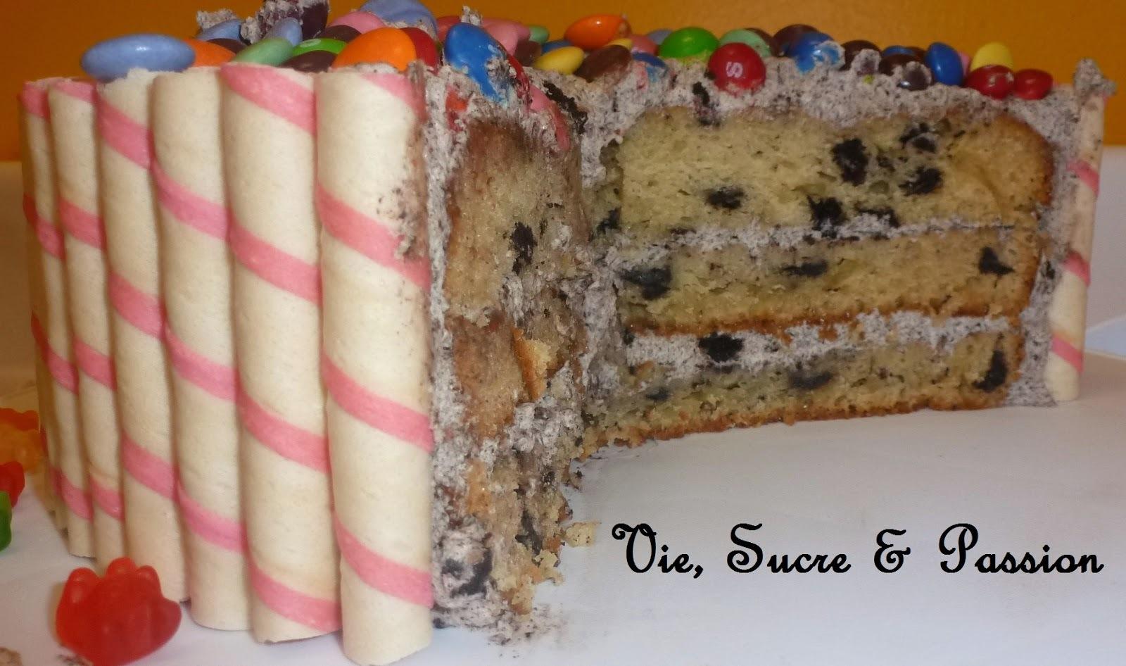 Gâteau aux Biscuits Oreo & à la Crème