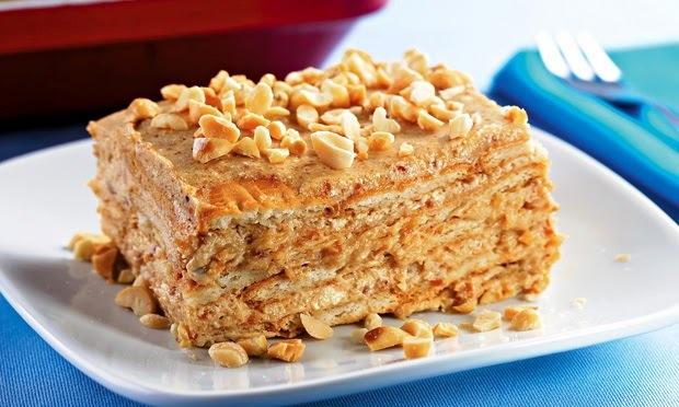 sobremesas com amendoim torrado