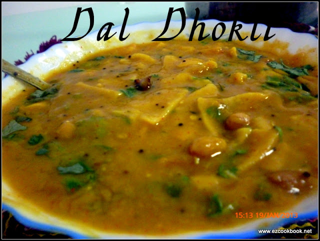 Dal Dhokli ~ Authentic Gujarati Recipe
