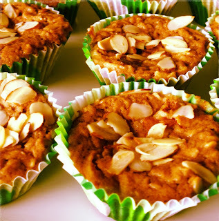 Apple Almond Cupcake