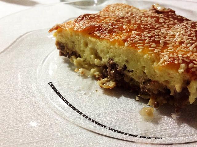 Torta de Carne Moída, molhadinha e saborosa!!!