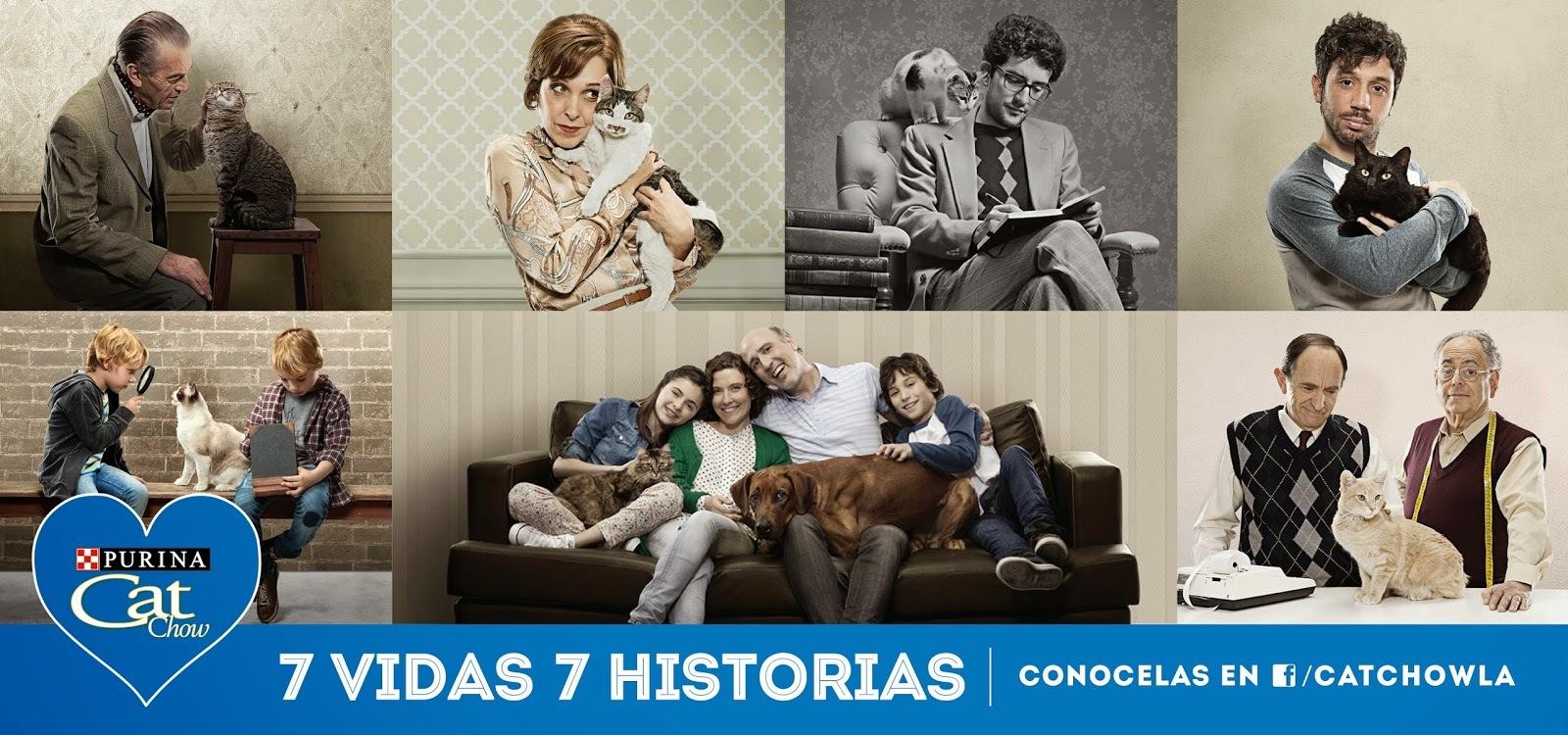Purina Cat Chow Presenta : #7Vidas7Historias !!!