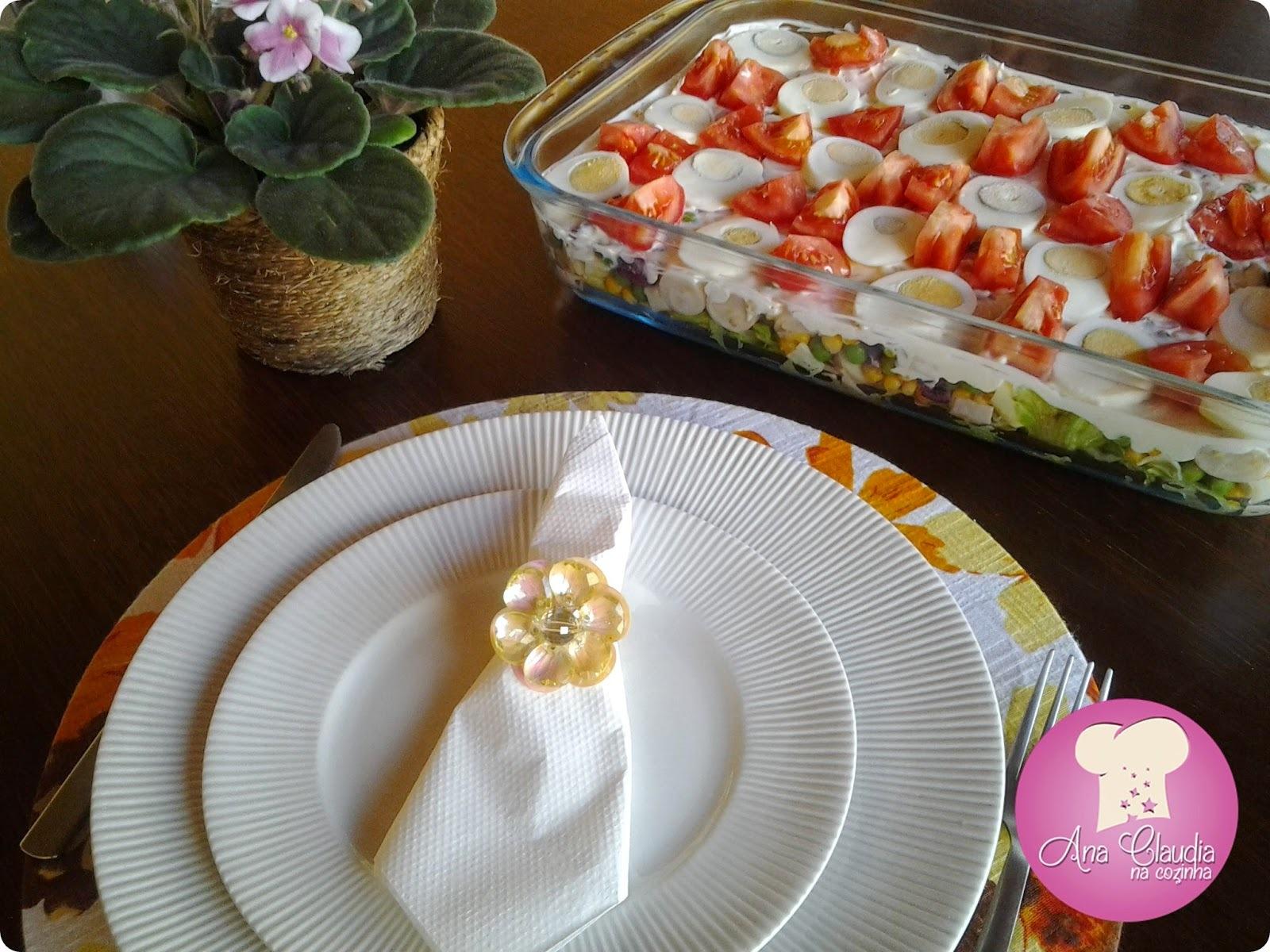 Salada em Camadas (versão II)