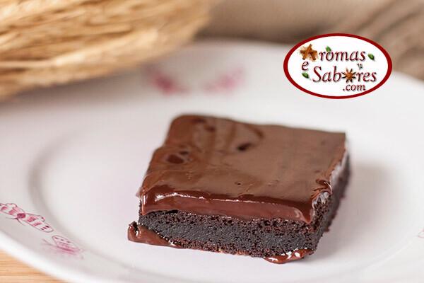 Receita de bolo de chocolate mud cake