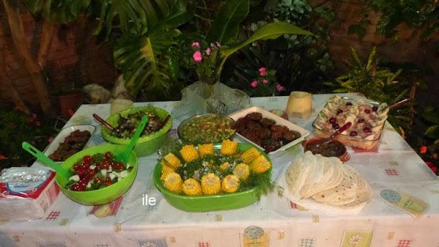 La cena de fin de año