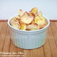 Chips de Mandioquinha na AirFryer (Batata Baroa)