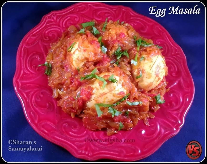 Egg Masala | முட்டை மசாலா | Muttai Masala