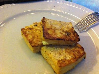 Churrasco de Tofu Marinado no Curry