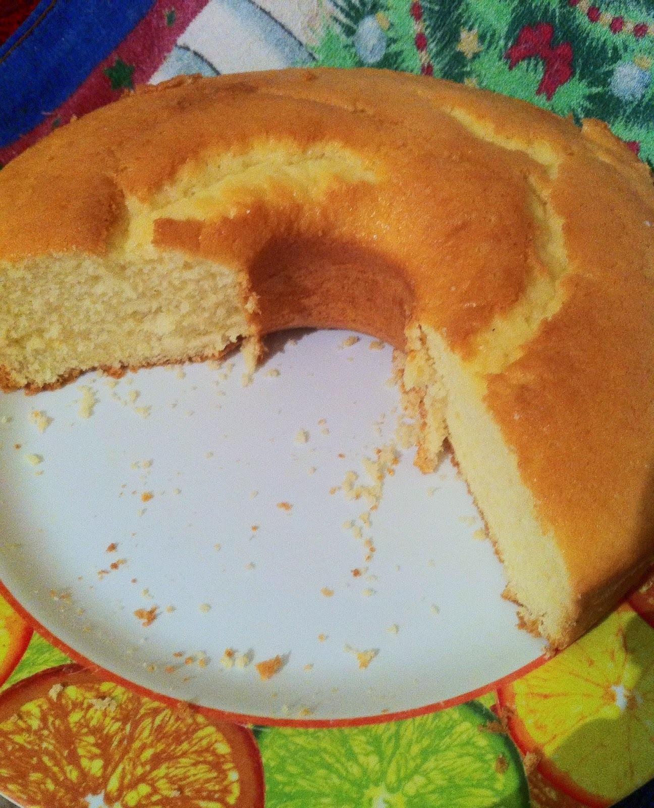 bolo de farinha de trigo com maizena fofinho