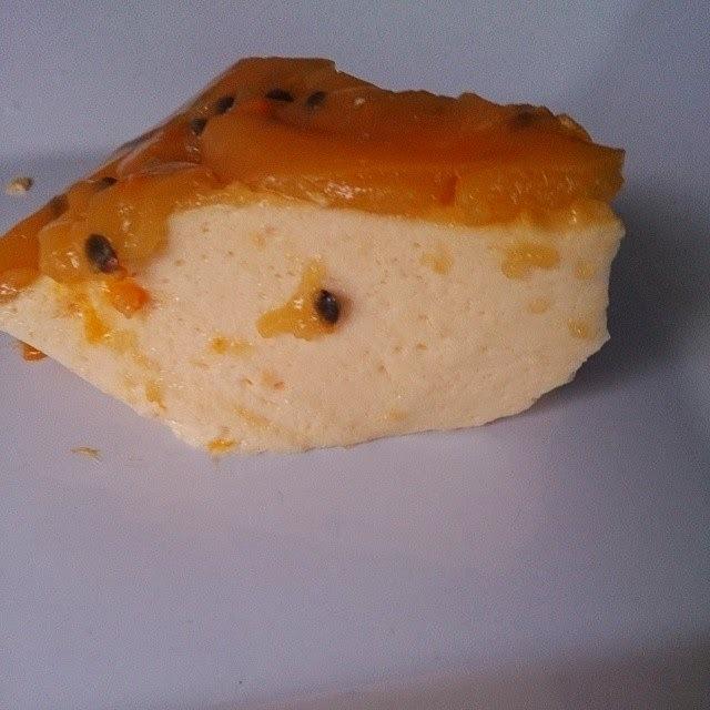 Mousse de Maracujá diet