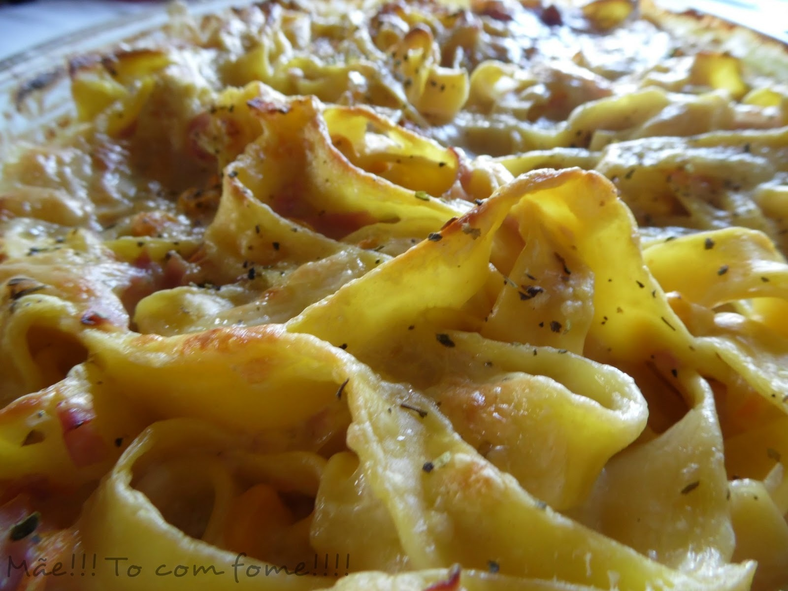 macarrão pizza com maionese
