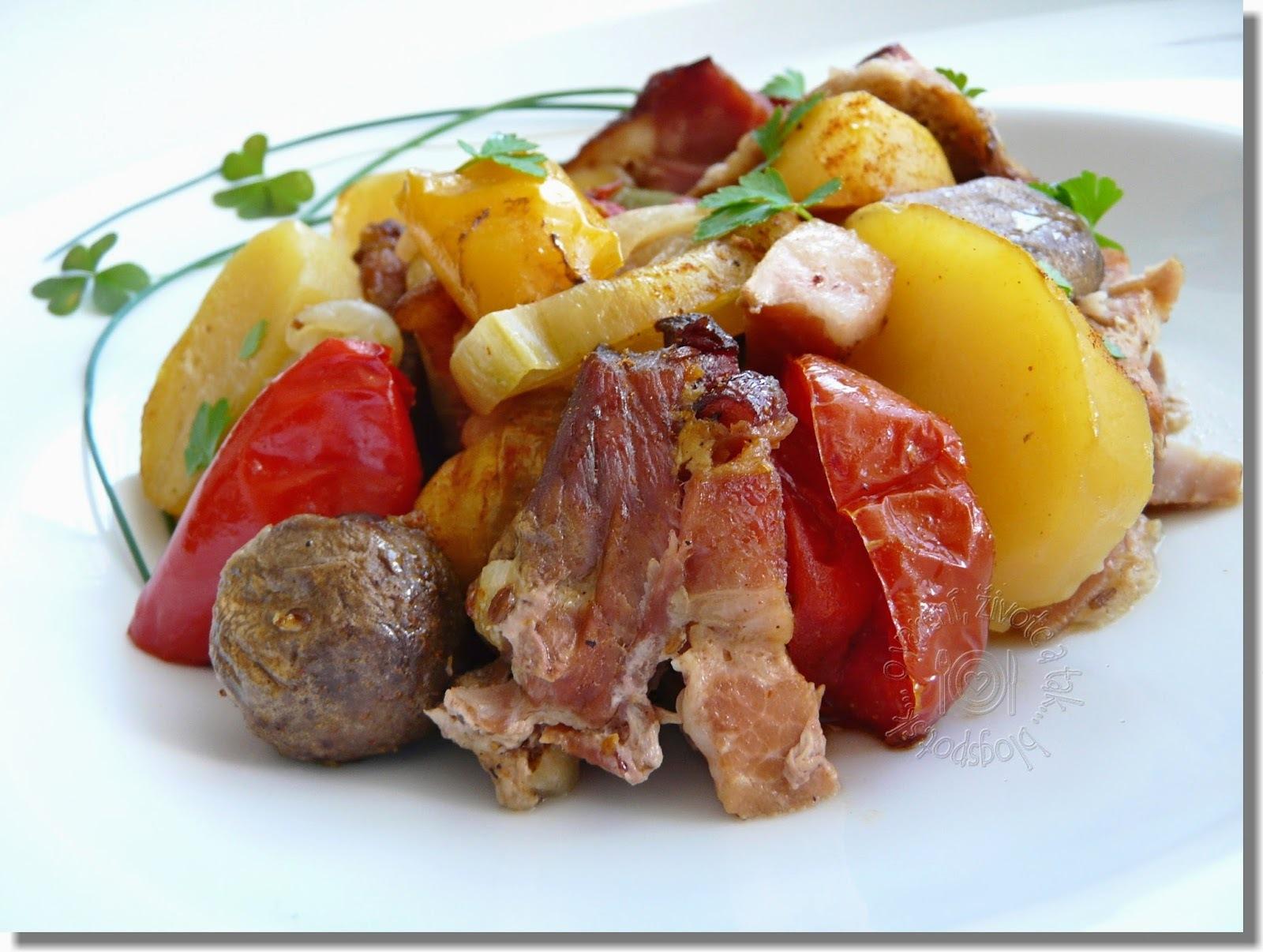 Prekladané mäso