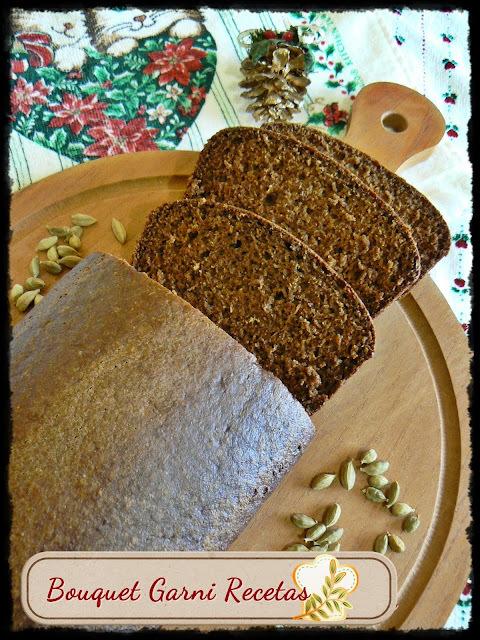 Receta de Navidad. Pan de especias - Pain d' Épices (Francia)