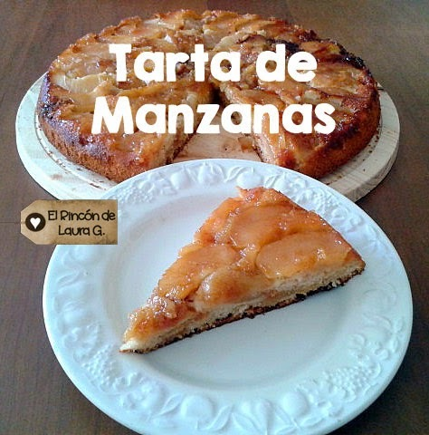 Receta de Tarta de Manzanas invertida • Upside-down Apple Cake