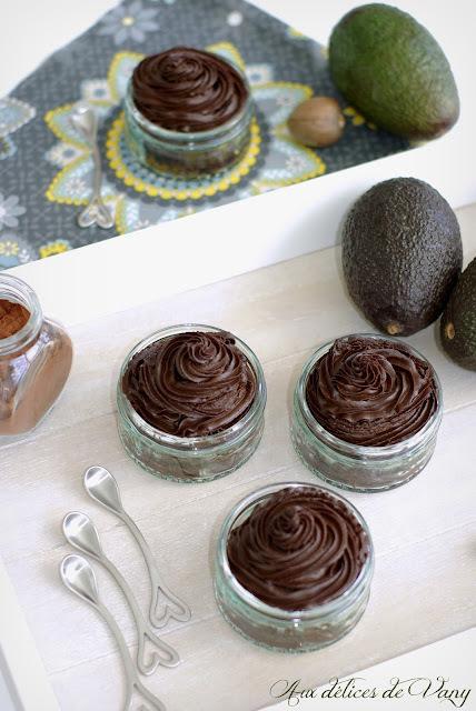 Mousse chocolat & avocat - (Bataille Food #27)