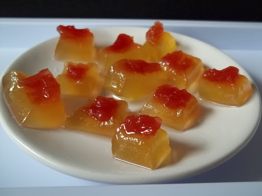doce da polpa da melancia