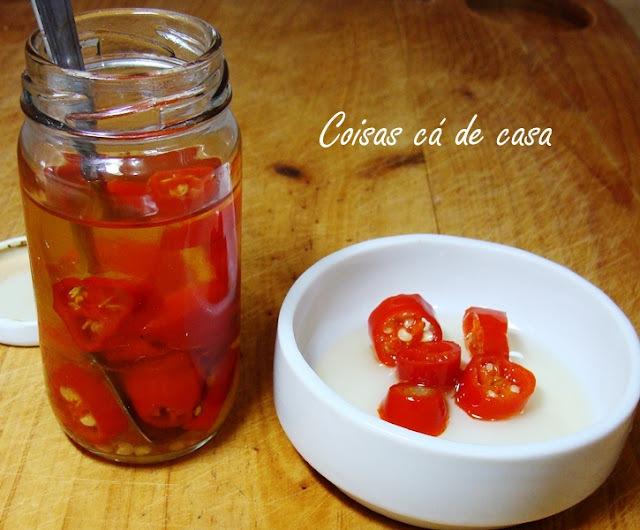 Conserva de pimenta dedo-de moça
