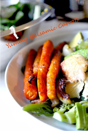 Delicious Balsamic Glazed Carrots + Cute things
