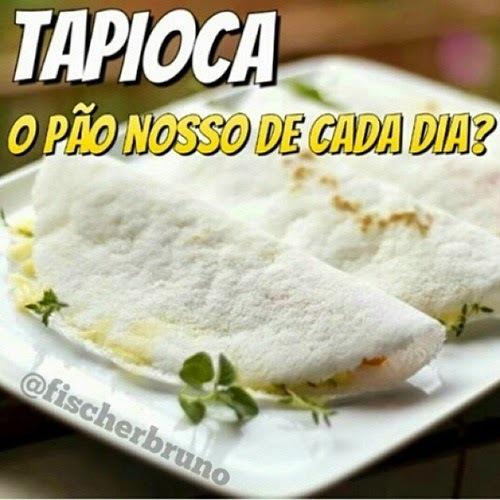 cardápio de tapioca recheada