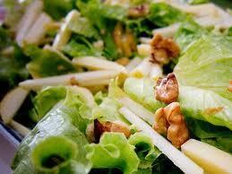salada de frutas com molho cremoso