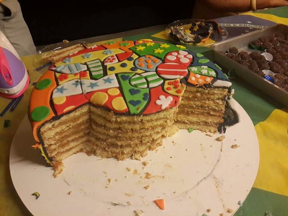 de bolo do chocolate lolo