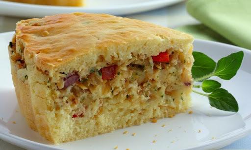 Torta de Bacalhau e Azeitona