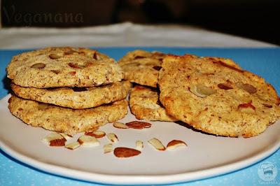 Cookies de Amêndoas sem Glúten