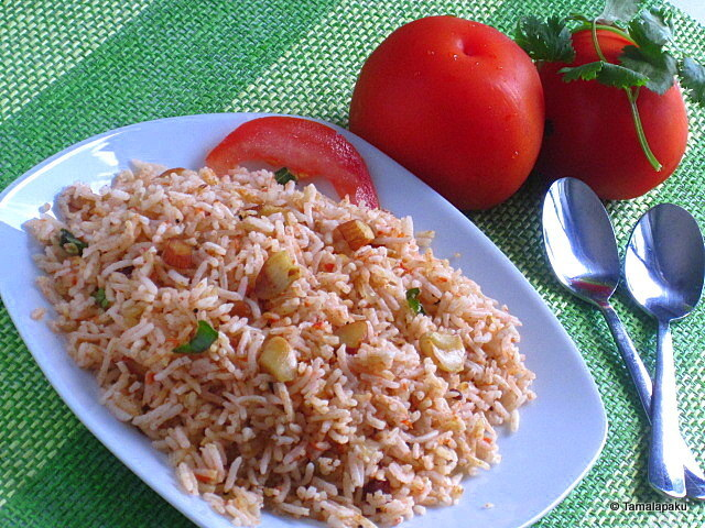 Tomato Rice - Version 2