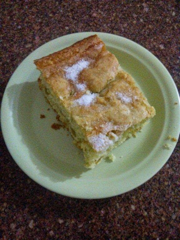Receita de bolo de hortelã