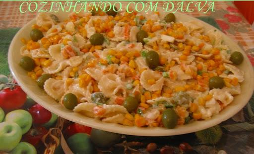 Salada de Macarrão Gravata