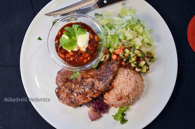 Egy mexikói egyveleg vacsorára