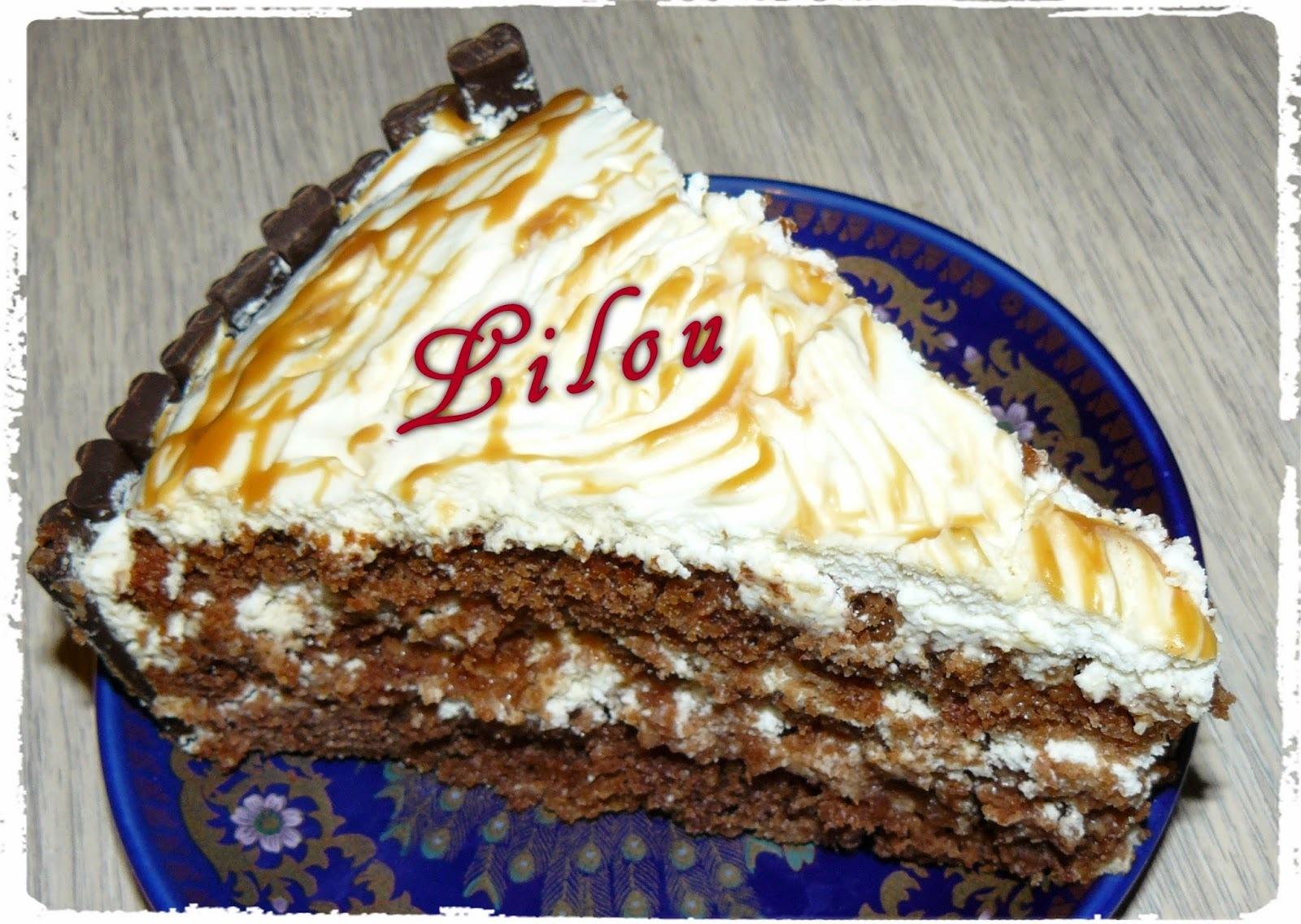 Gâteau chocolat - mascarpone