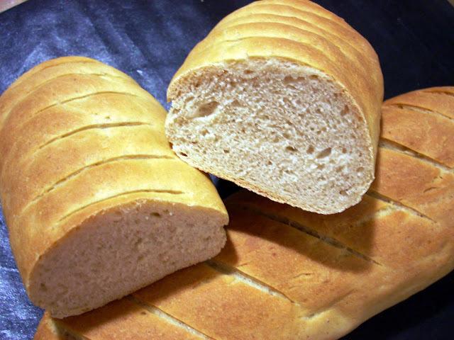 de pan amasado con mantequilla